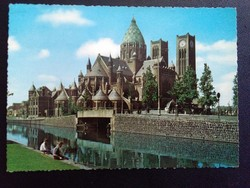 Haarlem Sint Bavo-Kerk Postatiszta Képeslap