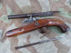 Damasztcsöves szabadsághracos csappanytús pisztoly