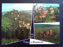 Trendelburg Sababurg Krunkenburg Postatiszta Képeslap