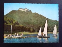 Der Edersee mit Schohloss Waldeck Postatiszta Képeslap