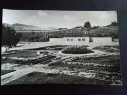 Pásztó Strand Fekete-Fehér Postatiszta Képeslap