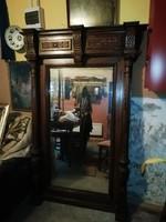 Barokk kastély tükör szuper eredeti 176 cm x 120 cm