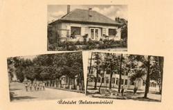 Ba 103 Körkép a Balaton vidékről a XX.század közepén .Balatonmária részletek