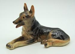 B731 Porcelán kutya - szép, hibátlan darab