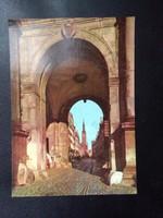 Gdansk Antik Postatiszta Képeslap