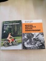 Retro motoros könyvek