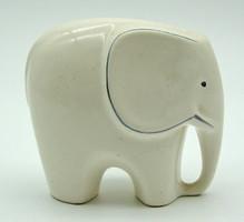 B709 Art deco porcelán elefánt - szép, hibátlan állapotban