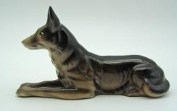 B729 Kolozsvári porcelán kutya - szép, hibátlan darab