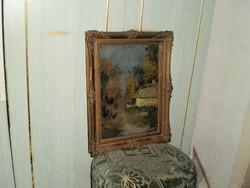 Szignózott olaj,festmény