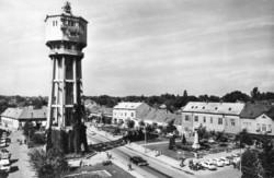 Ba 120 Körkép a Balaton vidékről a XX.század közepén .Siófok, Szabadság tér
