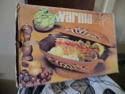 Warma kerámia sütőtál belül az alsó rész bevonva