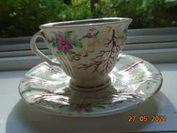 """1842  """"PRAG"""" benyomott jelzéssel ,muzeális csésze alátéttel a Kriegel&Co cégtől ritka mintával"""