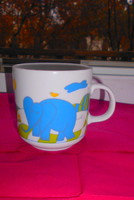 Alföldi mese porcelán elefántos  bögre