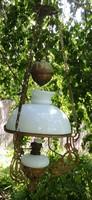 Csillár, lámpa lüszter làmpa, régen petróleum.Szecessziós! 100 éves csillàr