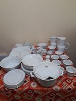 Hollóházi porcelán étkészlet