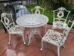 Kerti garnitúra - ( 1db asztal + 4db szék )