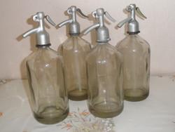 Régi Szódásüveg csomag ( 4 db.,1 Literes )