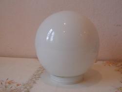 Tejüveg nagyobb méretű gömb lámpabúra
