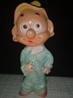 Retro gumi törpe figura