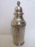 Neo klaszicista antik ezüst cukorszoró ritka forma