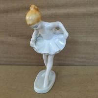 Hollóházi balerina, kislány, gyerek