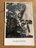 Kellemes ünnepeket  - 1949 -es képeslap