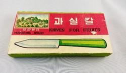 Moranbong Észak Koreai gyümölcskés készlet 12 db os