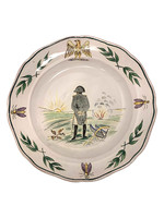 Faience plate of Napoleon, France