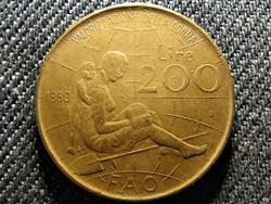 Olaszország FAO - Nemzetközi nőév 200 Líra 1980 R (id27481)