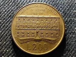 Olaszország 100 éves az Állami Tanács 200 Líra 1990 R (id27471)