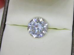 Szép nagy 4,6ct-os moissanit gyémánt VVS1, H-I akció !!!