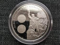 A magyar pénz krónikája Rabok legyünk vagy szabadok .999 ezüst PP (id23444)
