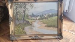 Kishegyi L festmény.