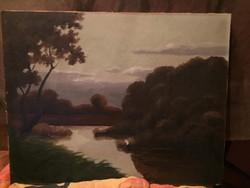 Kassai Varga Festménye