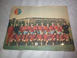 Régi 1960 as évek vasas labdarúgó csoportkép