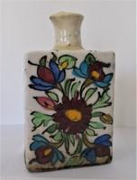 Gyönyörű, perzsa, iznik palack 1700-1800-as évekből