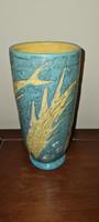 Art Deco Gorka Lívia Váza Stilizált Halakkal