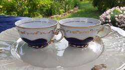 Zsolnay pompadour teás csészék