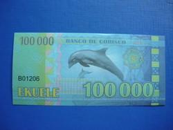 CORISCO 100000 EKUELE 2013 DELFIN! UNC! RITKA FANTÁZIPÉNZ!