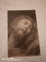 Jézus keresztre feszítése - posta tiszta olasz képeslap 1967-ből