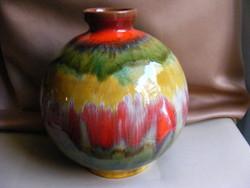 Retro iparművészeti kerámia váza