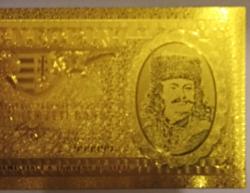 24 kt arany ötven forintos bankjegy exclusív ajándék