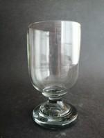 Nagyméretű bieder szakított üveg kehely, pohár - EP