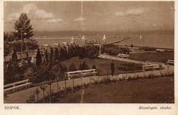 Ba 144 Körkép a Balaton vidékről a XX.század közepén .Siófok (Karinger fotó)