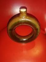 Retró kör alakú italos butykos