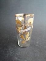 Antik pohár Üdvözlet Zsolnáról üveg pohár - EP