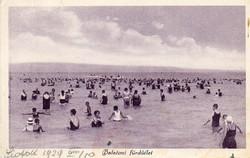 Ba 150 Körkép a Balaton vidékről a XX.század közepén .Balatoni fürdőzés (Monostory fotó)