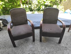 Cseh art deco fotel