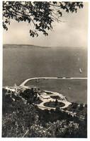 Ba 143 Körkép a Balaton vidékről a XX.század közepén .Tihany (Monostory fotó)