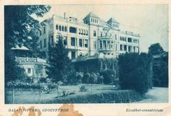 Ba 153 Körkép a Balaton vidékről a XX.század közepén .Balatonfüred Erzsébet Szanatórium (Karinger )